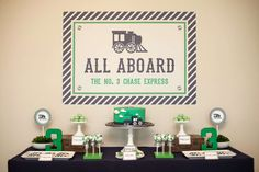 Trains Birthday Party Ideas   Photo 1 of 50   Catch My Party