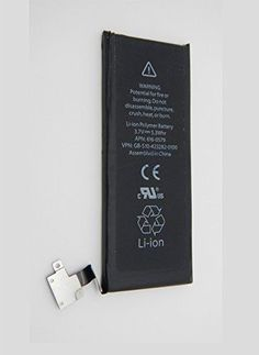 KKKK_New 1430mAh 3.7V 5.3Whr Li-ion Polymer Battery for Apple iPhone 4S (only for the iPhone 4s) iPhone 4 S Replacement Battery (battery only) APN: 616-0579 (compatible GSM & CDMA Models A1387 / A1431)