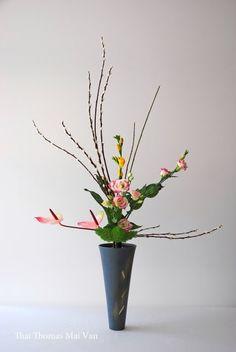 Style Rikka Shofutai - Art floral Ikebana