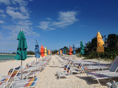 Disney Cruise - Castaway Cay - adults only beach