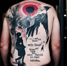 Trash Polka tattoo by Simone Pfaff and Volko Merschky