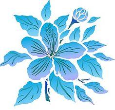 Hibiscus Flower Pattern « Design Patterns