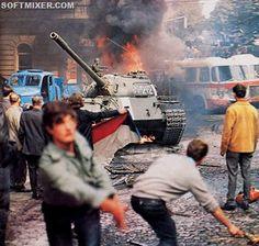 Жизнь в СССР: Ввод войск в Чехословакию, 1968 г.