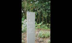 Wayfinding Signage, Toronto Botanical Garden, Adams + Associates Design…