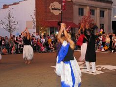 From the international dance demonstrations at Downtown Block Party