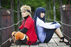 Naruto and Hinata NaruHina cosplay =w=