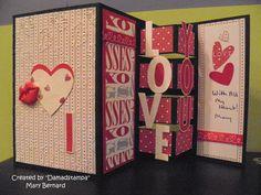 My hubby's Valentine card :).