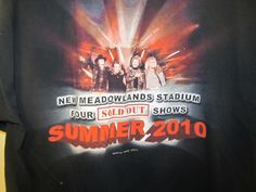 2010 Bon Jovi 4 sold out shows Meadowlands shirt - Adult X-large | Entertainment Memorabilia, Music Memorabilia, Rock & Pop | eBay!