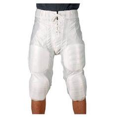 Youth Dazzle Football Pants w// Pads Scarlet//XXL