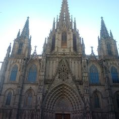 Barcelona Spain, Barcelona Cathedral, Travel, Viajes, Traveling, Trips, Tourism