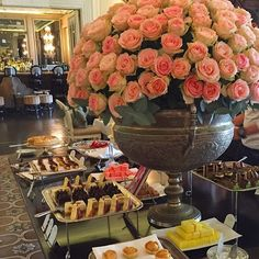 Follow us on instagram! High-Tea at the Nelson Mandela Hotel in Cape Town, South Africa! #pioneerlinenstravels