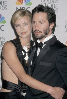 New couple alert charlize theron and keanu reeves