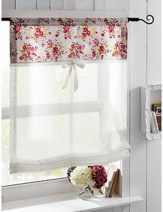 Cute for laundry room Cute for laundry room The post Cute for laundry room appeared first on Gardinen ideen. Cute Curtains, Curtains With Blinds, Valance, Bathroom Curtains, Kitchen Curtains, Window Coverings, Window Treatments, Rideaux Design, Romantic Room