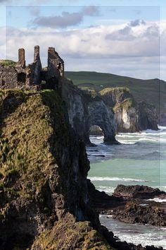 Dunluce Castle, Landscape