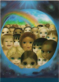 """Tomorrow's Future"" by Margaret Keane"