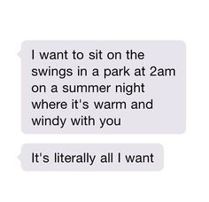 Oh my gosh....that's like.....all I want...that's so perfect I can't even
