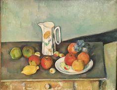 Naturaleza muerta.  Paul Cezanne.  Galería Nacional