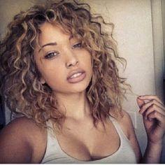 #shoulder length hair #naturally curly hair