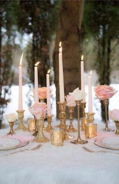 Blush Pink & Gold Wedding