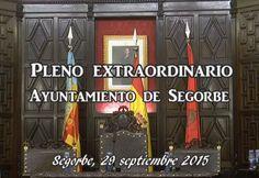 Pleno extraordinario, Segorbe 29-9-2015 - tribuna segorbina