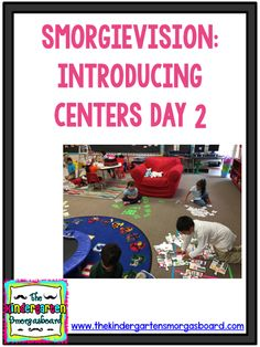 SmorgieVision: Introducing Centers Day 2 (Smedley's Smorgasboard of Kindergarten) Welcome To Kindergarten, Kindergarten Classroom Management, Kindergarten Smorgasboard, Kindergarten Centers, Kindergarten Activities, Classroom Organization, Fifth Grade, Second Grade, Creative Class