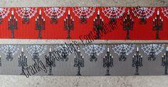 7/8 Gothic Collection Spiderweb Candelabra by fantabuloussupplies