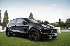 Porsche Cayenne Merdad, Black