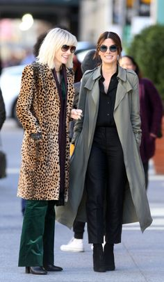Here's Your First Look at Sandra Bullock and Cate Blanchett in 'Ocean's Eight'