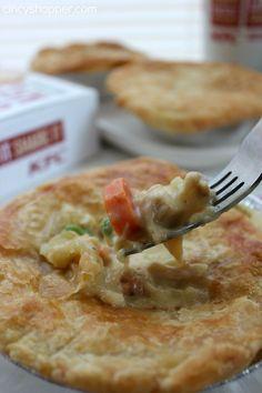 Copycat KFC Chicken Pot Pie Recipe 2