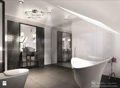 Łazienka styl Glamour Łazienka - zdjęcie od Magdalena Szymborska Architektura i Projektowanie Wnętrz