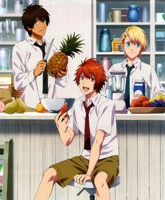 Tags: Scan, BROCCOLI, Official Art, Uta no☆prince-sama♪, Kurusu Shou, Ittoki Otoya, Aijima Cecil