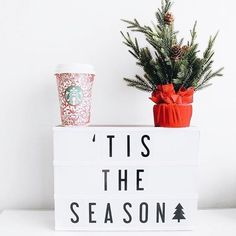 this photo from is helping us get in the holiday spirit! Show us how you're using your Lightbox this season! Light Board, Led Light Box, Lightbox Letters, Lightbox Quotes, Pink Christmas Decorations, Light Decorations, Holiday Lights, Christmas Lights, Christmas Room