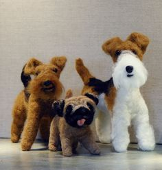 Custom Needle Felted Sculpture by feltedheirlooms - one can be made from photos of your own pet