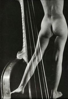 Pierre Boucher, Violin nude, date unknown