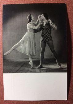 Vintage soviet photo postcard 1955 Russian ballet Romeo Juliet Ulanova Zhdanov | eBay