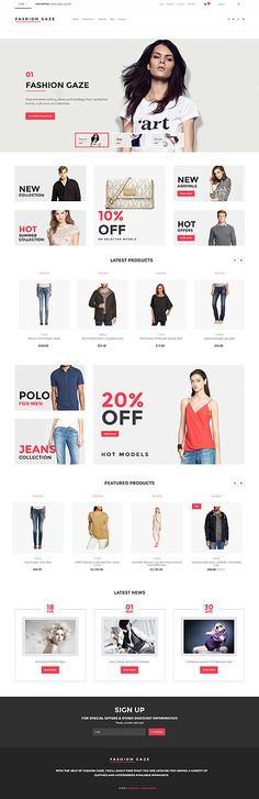 Fashion & Trendy Clothing Online Store #Virtuemart #template. #themes #business #responsive