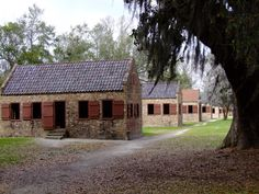Slave Quarters, Boone Hall plantation, circa 1687, Charleston, South Carolina