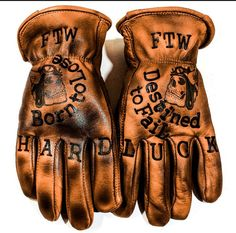 Hard Luck 13 is part of braids - Same design as the old Born to lose gloves,but on a more common glove style Also makes sizing much easier! Bad Boy Style, Boy Fashion, Mens Fashion, Motorcycle Gloves, Bike Gloves, Moto Bike, Hand Gloves, Types Of Jackets, Leather Gloves