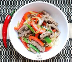 ♥ JP Gotuje: Tajska wołowina z chilli