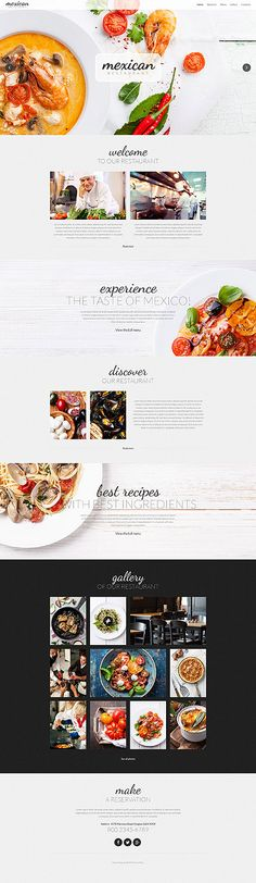 Template 52291 - Mexican Pepper Responsive Website Template