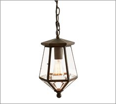 Pottery Barn - London Pendant Outdoor Porch Lights, Porch Lighting, Comfy Cozy Home, Cozy House, Pottery Barn, Design Elements, Architecture Design, Sweet Home, Ceiling Lights