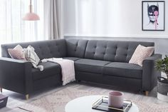 Jak urządzić salon? Zobacz u nas Sofa, Couch, Furniture, Home Decor, Drawing Rooms, Homemade Home Decor, Settee, Couches, Home Furnishings