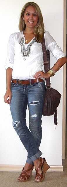 I would totally wear this ever day if I could :) I need this outfit in my life.