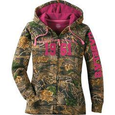 Cabela's Women's Varsity Full-Zip Hooded Print Sweatshirt