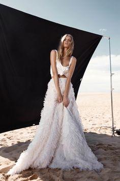 Calli Skirt & Silk Cami   One Day Bridal USA