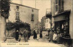 Voici quelques photos anciennes du village de Romagnat