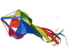 $26.50 Spinning Rainbow Jellyfish Windsock 1m - Australian Made Windsocks Wind Sock