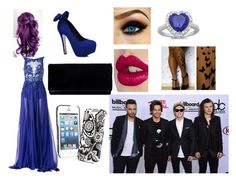 """""""At Billboard With One Direction"""" by evalabrador-1 ❤ liked on Polyvore featuring Zuhair Murad, Vera Bradley, Charlotte Tilbury and Sterling Essentials"""