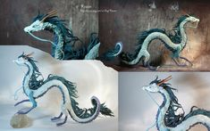 Dragon Haku from Spirited away by kessan.deviantart.com on @deviantART
