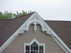 Design ideas for gable end exteriors google search for Victorian gable decorations